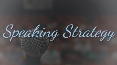 Speaking Strategy