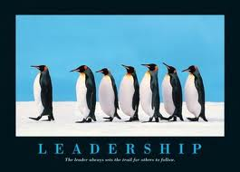 Leadership: They will follow your lead!