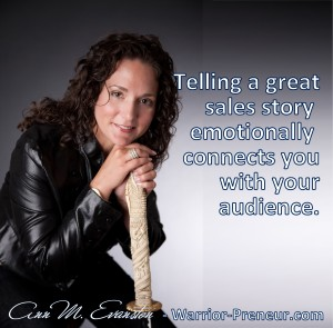 Telling a  great sales story