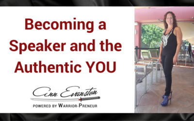 Becoming a Speaker and the Authentic YOU