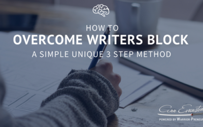 How to Overcome Writers Block: a Simple Unique 3 Step Method