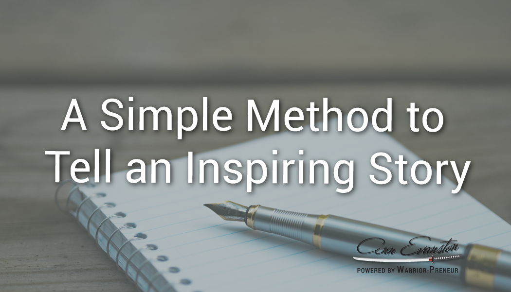 A Simple Method to Tell an Inspiring Story