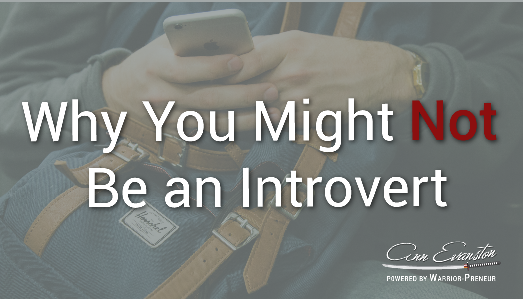 Why You Might Not Be an Introvert